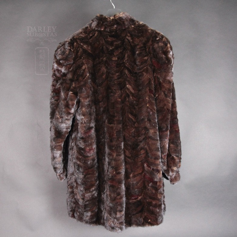 Mink Fur Coat - 1