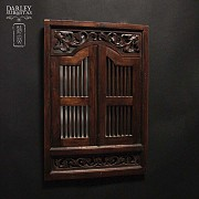 中式嵌镜木框 - 2