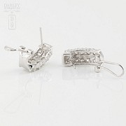 Fantastic diamond earrings 1.82cts - 3