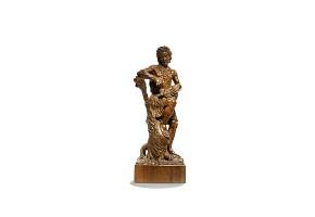 Wood carved s XIX