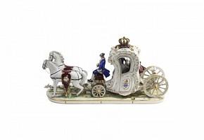 German porcelain sculpture