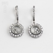 Silver earrings and cubic zirconia law