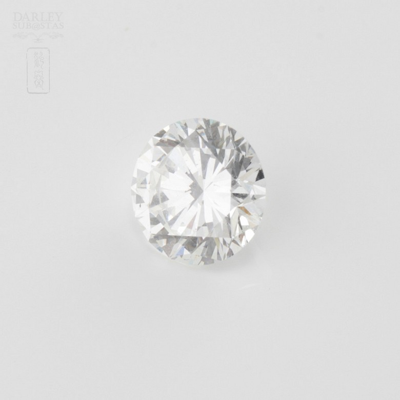 natural diamond, brilliant-cut, weight 1.51cts,
