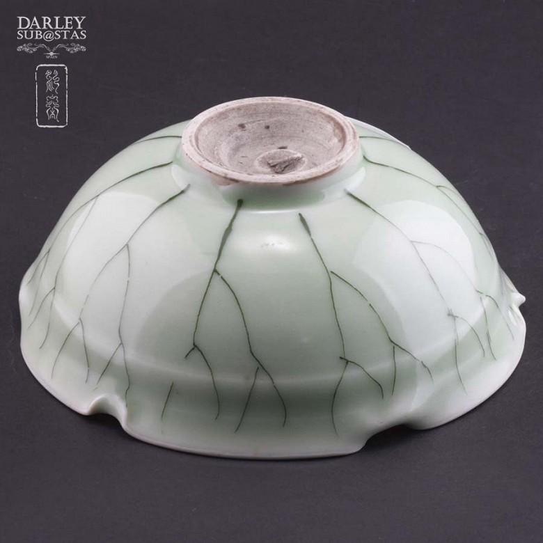 vasija de ceramica verde - 3