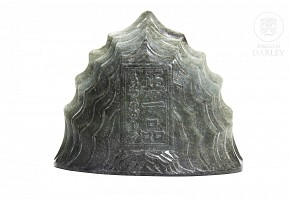 Carved jade mountain, Qing dynasty.