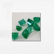 Lot emeralds Colombian - 2