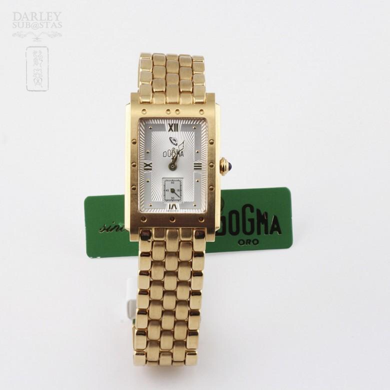 Watch Men Dogma 418615 18k Gold, Sapphire on crown