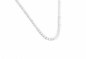 Collar-Riviére en oro blanco y diamantes
