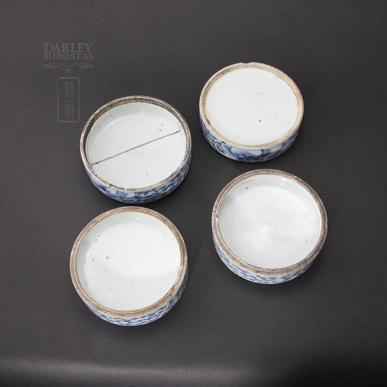 Lovely set of ceramic Antigua Qing Dynasty. - 2
