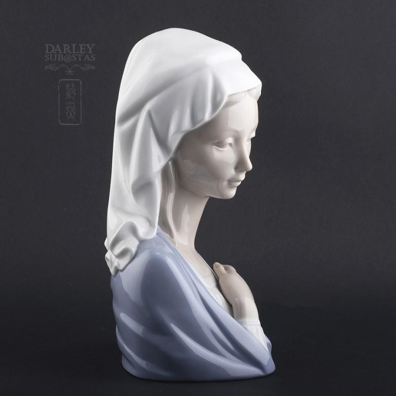 Busto Madonna de Lladró
