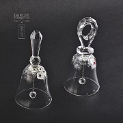 Set of two figures in Swarovski crystal, two bells - 3