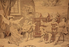 Tapestry following the Dutch model, possibly 19th century