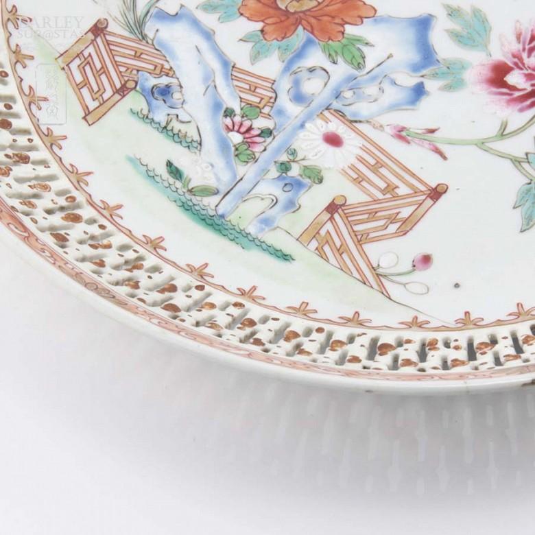 Precioso Plato Chino siglo XVIII - 6