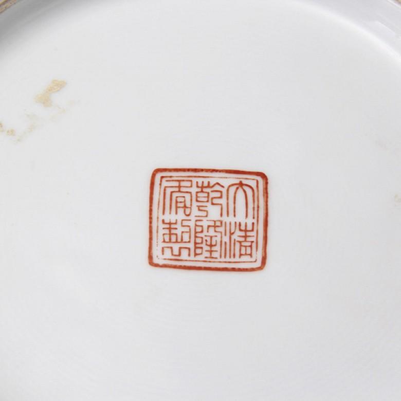 Pair of Chinese vases Ming Guo - 3