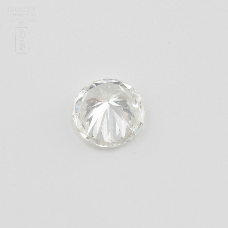 Diamante natural, talla brillante, color G, pureza VVS2, de peso  1.11 cts , - 3