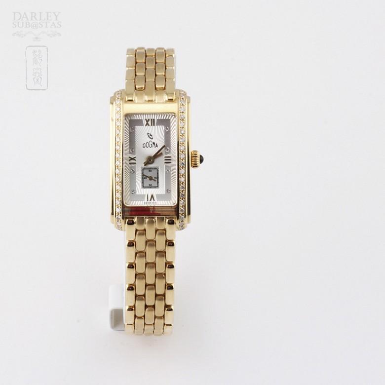 Lady Watch 418851 18k Gold Diamond Dogma - 3