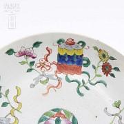 十九世纪彩绘瓷盆 - 2