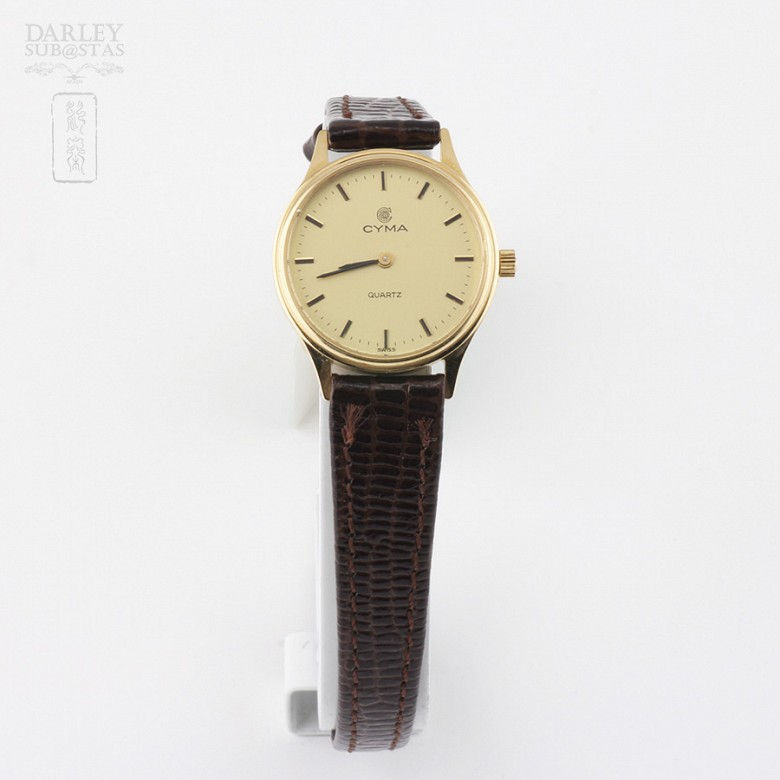 Cyma Gold Watch Lady (new)