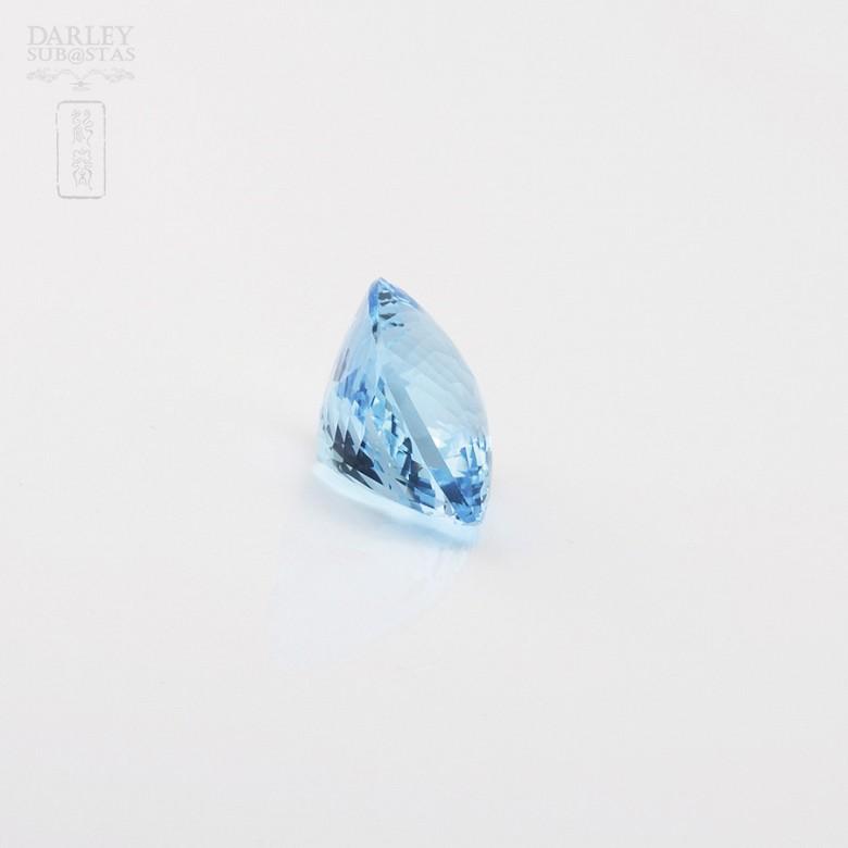 58,11克拉微深蓝色透亮蓝晶 - 2