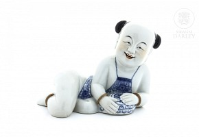 Chinese porcelain child, early 20th century