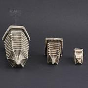 Tres pagodas de cerámica - 4