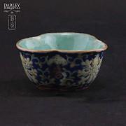 十九世纪彩绘小瓷碟 - 3