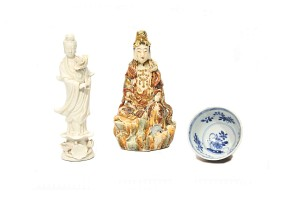 Lote de porcelana china, s.XX