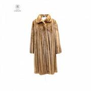 Light brown mink coat