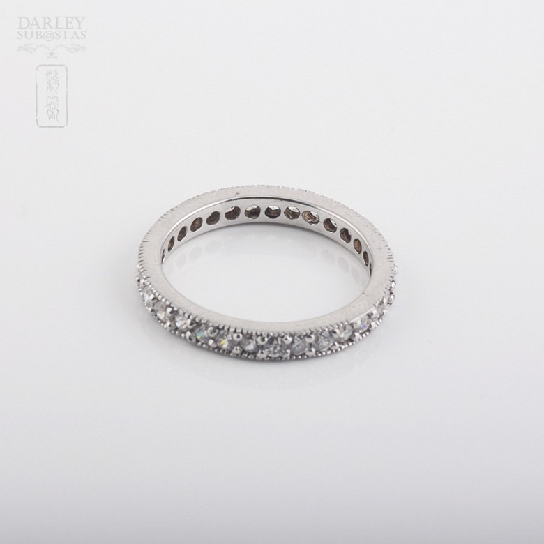 Alliance with sterling silver cubic zirconia - 1