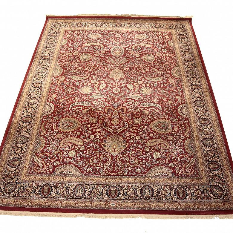 Oriental wool rug, 20th century