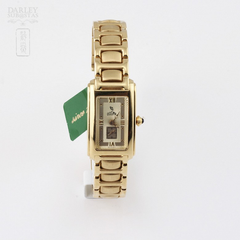 Dogma Ladies Watch 18k Gold 415707 3814