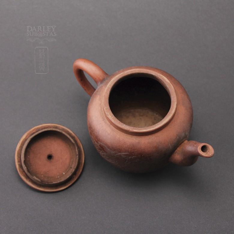 宜兴紫砂老茶壶 - 2