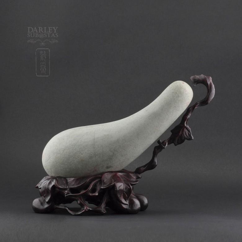 Eggplant natural stone