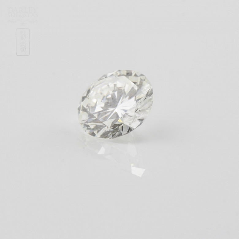 Diamante natural, talla brillante, color G, pureza VVS2, de peso  1.11 cts , - 2