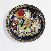 Four Rosenthal porcelain plates, 20th century - 7