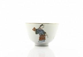 Cuenco de porcelana china, con sello Daoguang.