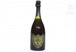 Champagne bottle, Moët et Chandon à Epernay, 1982