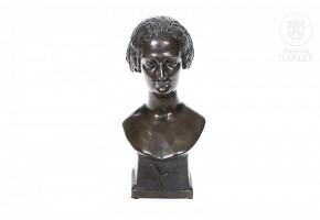 "Victor Vilain (1818-1899) ""Woman bust"", 1847."
