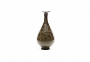 Jarrón de cerámica china estilo Jizhou.