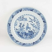 18th Century plate Company of Indies