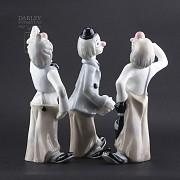 three Clowns - 4