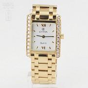 Precioso Reloj Cyma oro y Diamantes