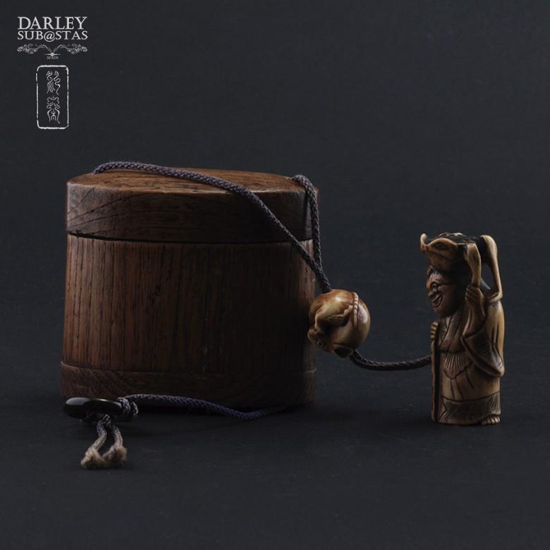 Precioso bolso de bambu