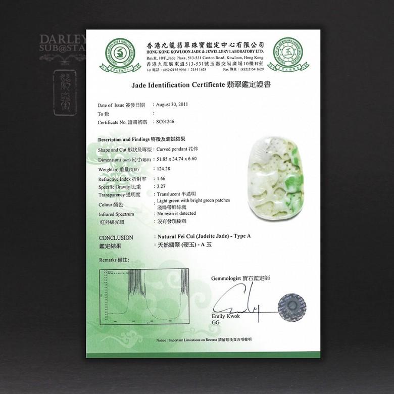 Jadeita - Jade Imperial 100% natural - 4