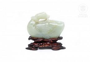 Jade carved