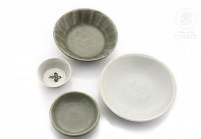 Lote de porcelana y cerámica china, dinastía Song-Ming.