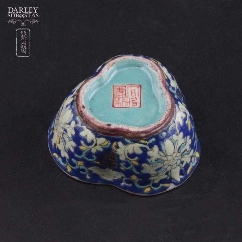 十九世纪彩绘小瓷碟 - 2