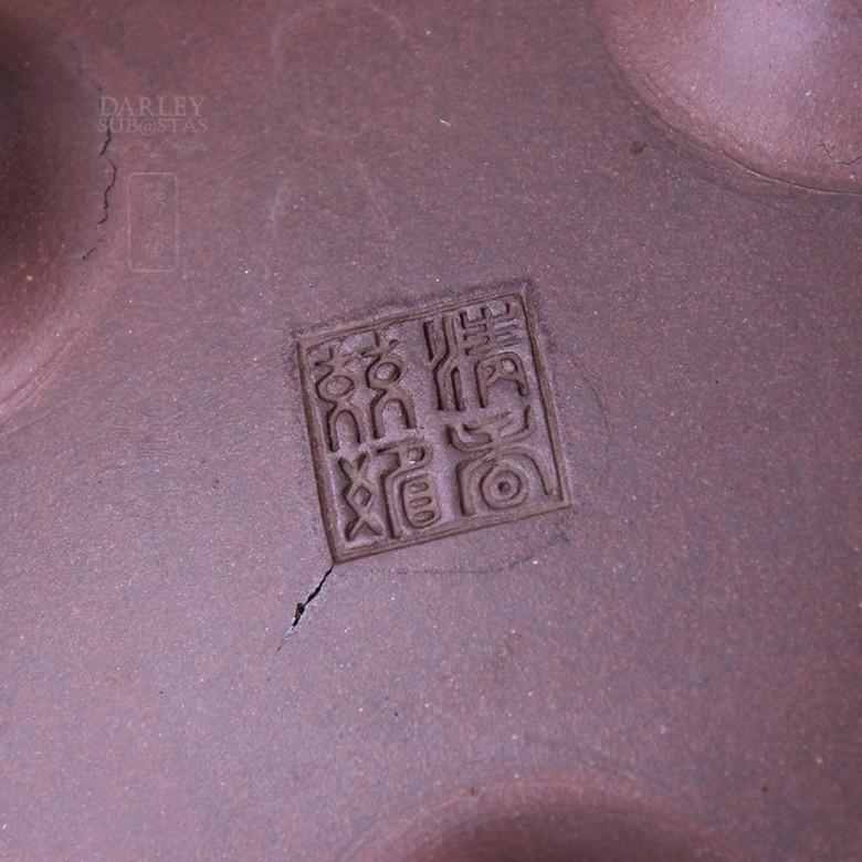 Tetera de Yixing con forma de camello. - 5