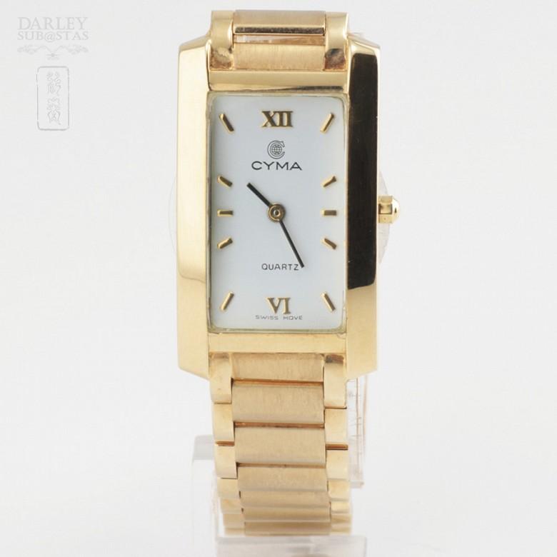 Gold Swiss Watch Cyma18k 黄金腕表