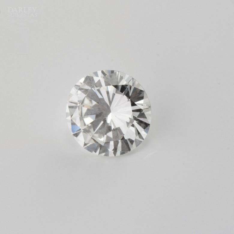 1.11克拉天然钻石,明亮式切割 - 1